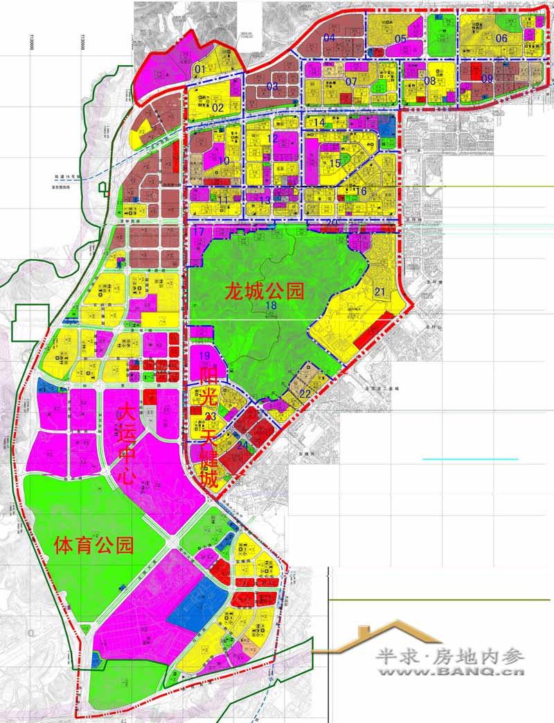 深圳市龙岗区规划图