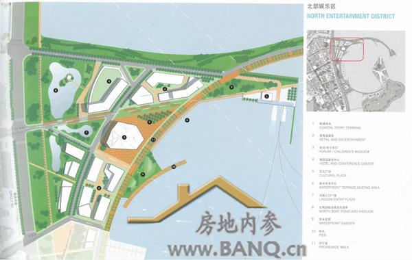 香洲爱情湾功能分区之海港公园区