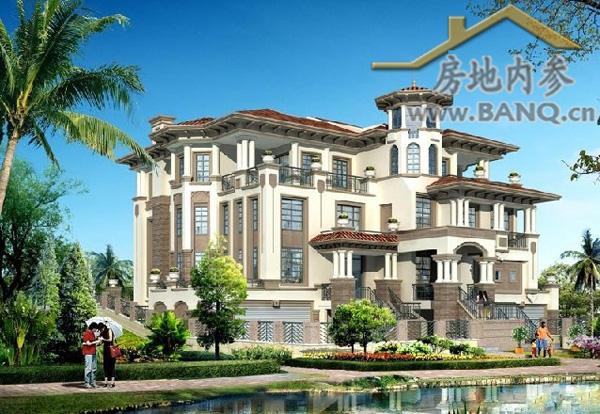 据悉,卓越·东部蔚蓝海岸首期推出的联排别墅,为户型面积在145~247㎡