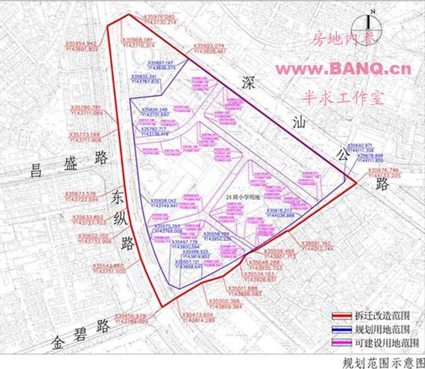 规划图) 深圳市龙岗303-03号片区[坪山中心地区]法