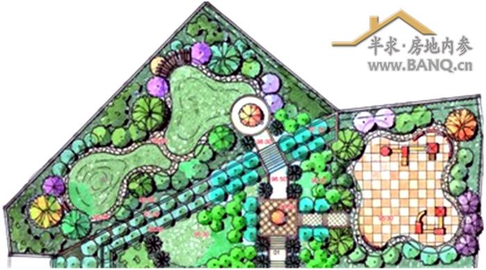 儿童游乐设施平面图图片