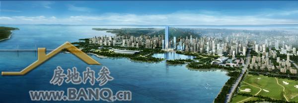 后海金融区,深圳湾1号全景