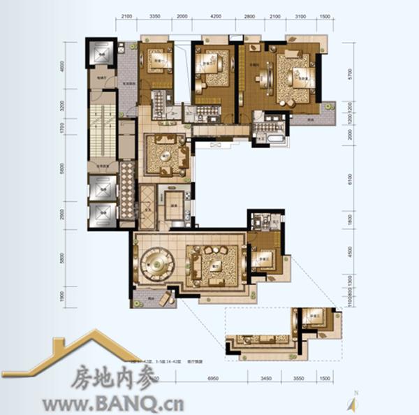 别墅横厅户型设计