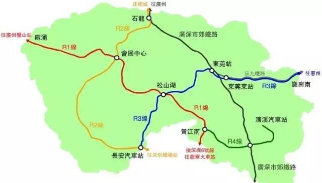 1、轻轨R1线联通深圳地铁6号线:1站抵深、11站到深圳北-中信红树图片