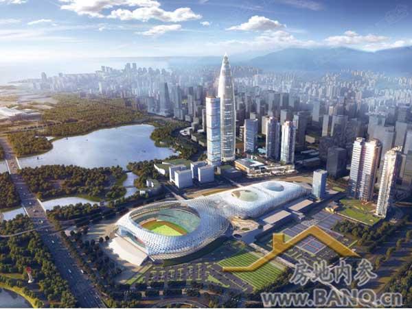 深圳悦府规划图