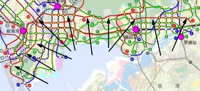 地铁24号线规划图