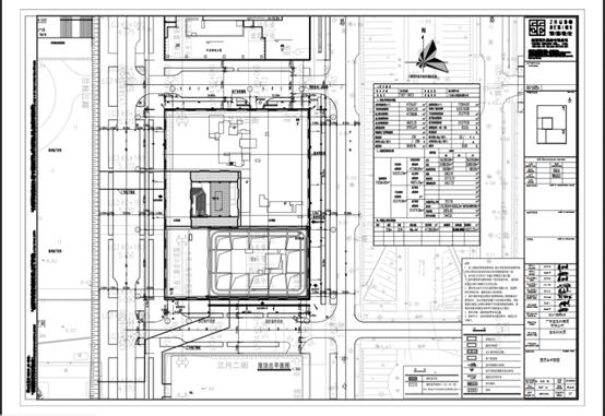 4.7万㎡喜之郎大厦总平面图修改公示
