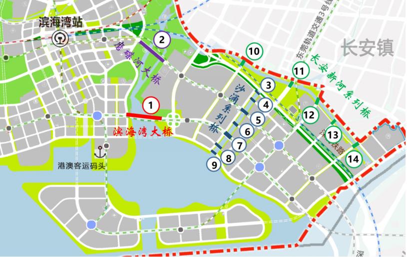 香港最新资讯_大湾区又一基建力作:东莞滨海湾大桥年底动工 -- 半求·房地 ...