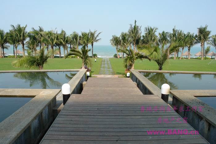 美丽的盈滨半岛西海岸温泉